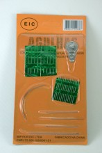 Agulheiro cartela c/ 6 kit