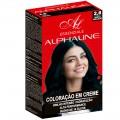 Alpha Line - Essenziale - Coloração em Creme - Para Brilho Intenso, Hidratação e Alta Performance - 2.8 Preto Azul